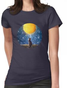 A Yarn of Moon Womens Fitted T-Shirt