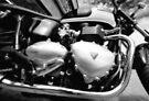 Triumph Bonneville Engine by Nigel Bangert