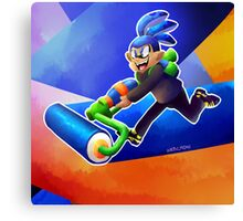It's about squids my dude Canvas Print