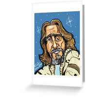 The Dude Greeting Card