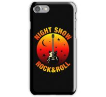 Night Show iPhone Case/Skin