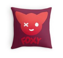Foxy the Pirate Fox Throw Pillow