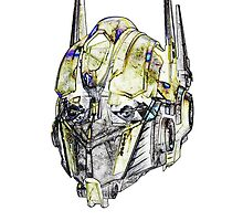 Optimus Sketch by CrewL Designs