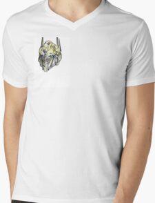 Optimus Sketch Mens V-Neck T-Shirt