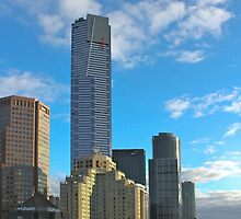 Melbourne in the winter by cmphotobham