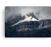 Misty Peak Canvas Print