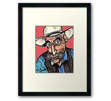 Lebowski Framed Print