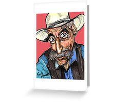 Lebowski Greeting Card