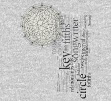 Circle Of Fifths One Piece - Short Sleeve