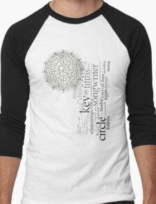 Circle Of Fifths Men's Baseball ¾ T-Shirt