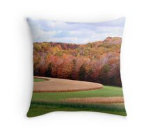 Oct. scenic ride  Throw Pillow
