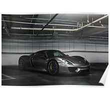 Porsche 918 Spyder Underground Poster