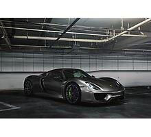 Porsche 918 Spyder Underground Photographic Print