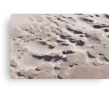 Lumps of crusty sand Canvas Print