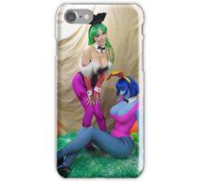 Darkstalkers Easter special iPhone Case/Skin