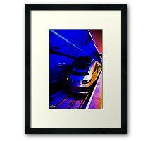 Gautrain - High Speed Train Travel in Africa Framed Print