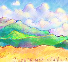 The Magical Mountains of Santa Fe by Julia Stege