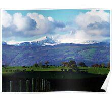 Snowdon, The Mountain Poster