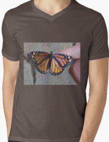 Monarch Butterfly ChangeArt Mens V-Neck T-Shirt