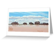 Darling Flood Greeting Card