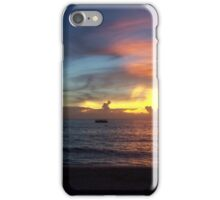 Purple Sunset in Jamaica iPhone Case/Skin