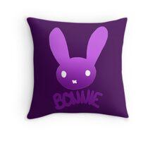 Bonnie the Bunny Throw Pillow