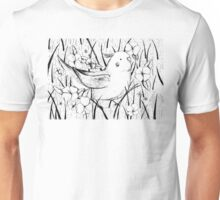 Cockatiel in Grass Unisex T-Shirt