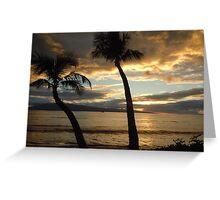 Maui Sunset - II Greeting Card