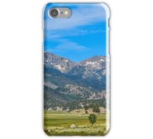 Scenic Mountain View iPhone Case/Skin