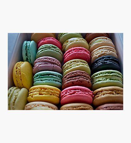 French Macaron Photographic Print