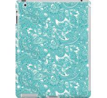 Turquoise Henna Pattern iPad Case/Skin
