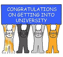 Congratulations on getting into University by KateTaylor