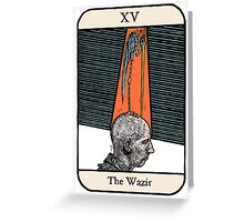The Wazir Greeting Card