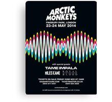 Arctic Monkeys Canvas Print