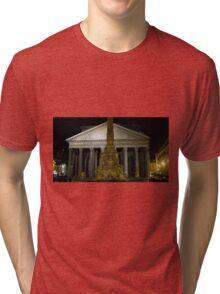 Pantheon at Night Tri-blend T-Shirt