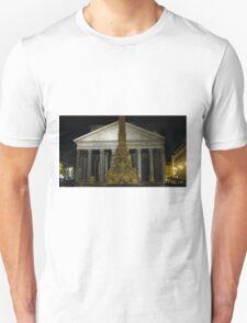 Pantheon at Night Unisex T-Shirt