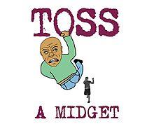 Toss a midget Photographic Print