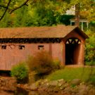 Covered Bridge in Stanley Park by Monica M. Scanlan