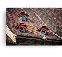 Fairytale Windows Canvas Print