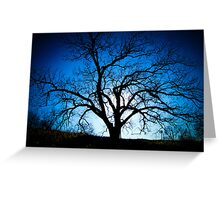 Creep into the Trees Greeting Card