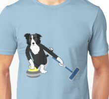 Border Collie Curling Unisex T-Shirt