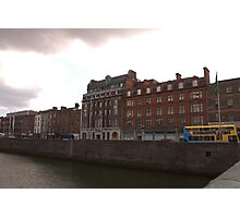 Dublin River Liffey Photographic Print