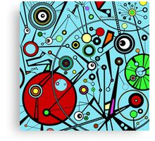 Electronic Carnival Canvas Print
