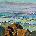 Rocks on Mt Wellington, Tas Australia by Margaret Morgan (Watkins)