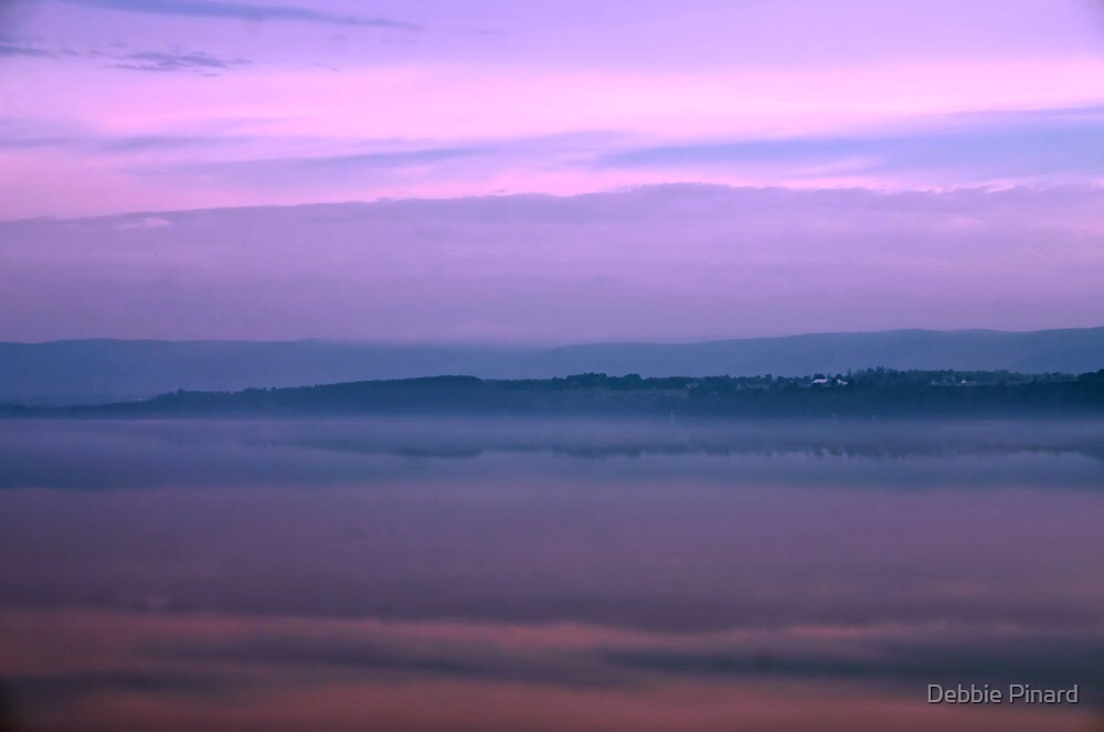 Early Morning on the Ottawa River by Debbie Pinard