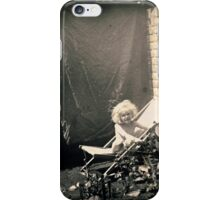 Little Girl Sunbathing, Circa 1930s iPhone Case/Skin