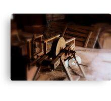 tool sharpener Canvas Print
