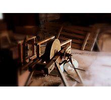 tool sharpener Photographic Print
