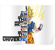 SSJ Goku Quote Print Poster