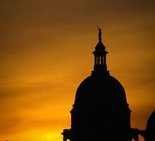 Sunset at the Capitol by Sara Wilcox